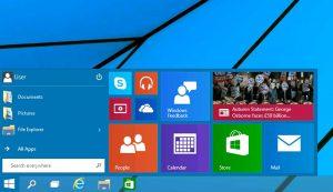 Windows 10 Start Menu Small
